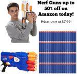 Nerf Gun Deals on Amazon!