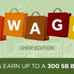 Get extra SB with Swago Shoping Edition!